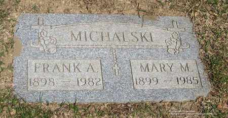 MICHALSKI, MARY A. - Lucas County, Ohio | MARY A. MICHALSKI - Ohio Gravestone Photos
