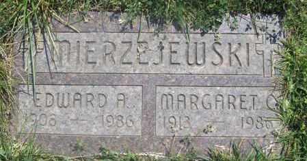 MIERZEJEWSKI, EDWARD A. - Lucas County, Ohio | EDWARD A. MIERZEJEWSKI - Ohio Gravestone Photos