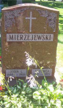 MIERZEJEWSKI, SALOMEA - Lucas County, Ohio | SALOMEA MIERZEJEWSKI - Ohio Gravestone Photos