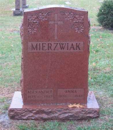 ZIELINSKI MIERZWIAK, ANNA - Lucas County, Ohio | ANNA ZIELINSKI MIERZWIAK - Ohio Gravestone Photos