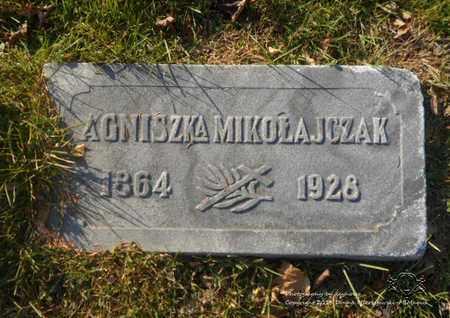 MIKOLAJCZAK, AGNISZKA - Lucas County, Ohio | AGNISZKA MIKOLAJCZAK - Ohio Gravestone Photos