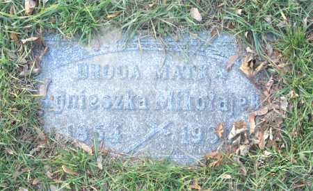 MIKOLAJEK, AGNIESZKA (AGNES) - Lucas County, Ohio | AGNIESZKA (AGNES) MIKOLAJEK - Ohio Gravestone Photos
