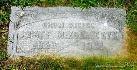 MIKOLAJCZYK, JOZEF - Lucas County, Ohio   JOZEF MIKOLAJCZYK - Ohio Gravestone Photos