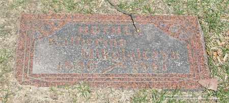 KWASEK MIKOLAJCZYK, KATHERINA - Lucas County, Ohio | KATHERINA KWASEK MIKOLAJCZYK - Ohio Gravestone Photos