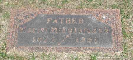 MIKOLAJCZYK, MACIEJ - Lucas County, Ohio | MACIEJ MIKOLAJCZYK - Ohio Gravestone Photos