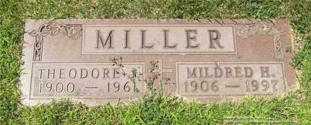 MILLER, MILDRED H. - Lucas County, Ohio | MILDRED H. MILLER - Ohio Gravestone Photos