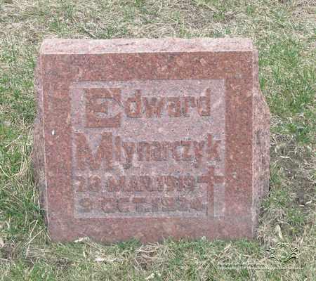 MLYNARCZYK, EDWARD - Lucas County, Ohio | EDWARD MLYNARCZYK - Ohio Gravestone Photos