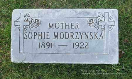 MODRZYNSKA, SOPHIE - Lucas County, Ohio   SOPHIE MODRZYNSKA - Ohio Gravestone Photos