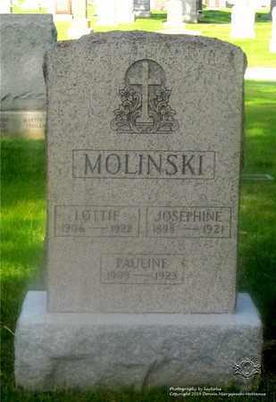 MOLINSKI, LOTTIE - Lucas County, Ohio | LOTTIE MOLINSKI - Ohio Gravestone Photos