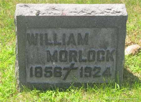 MORLOCK, WILLIAM - Lucas County, Ohio | WILLIAM MORLOCK - Ohio Gravestone Photos