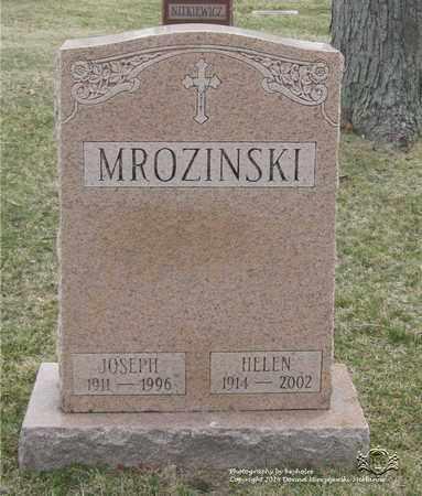 MROZINSKI, JOSEPH - Lucas County, Ohio | JOSEPH MROZINSKI - Ohio Gravestone Photos