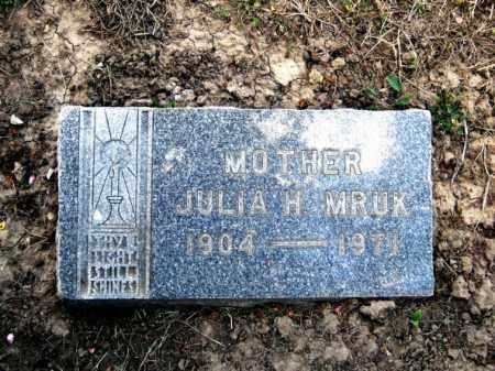 MRUK, JULIA HENRIETTA - Lucas County, Ohio | JULIA HENRIETTA MRUK - Ohio Gravestone Photos