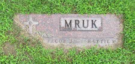 KARAMOL MRUK, HATTIE - Lucas County, Ohio | HATTIE KARAMOL MRUK - Ohio Gravestone Photos