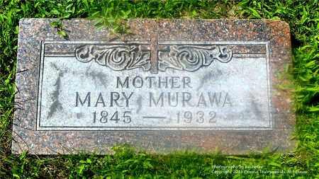 MURAWA, MARY - Lucas County, Ohio | MARY MURAWA - Ohio Gravestone Photos