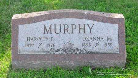 MURPHY, OZANNA M. - Lucas County, Ohio   OZANNA M. MURPHY - Ohio Gravestone Photos