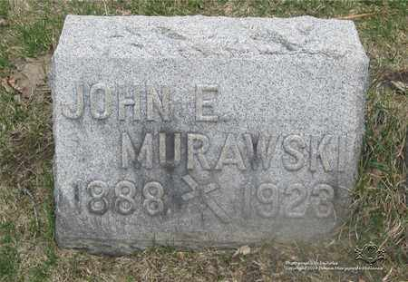 MURAWSKI, JOHN E. - Lucas County, Ohio   JOHN E. MURAWSKI - Ohio Gravestone Photos
