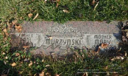 MURZYNSKI, PAUL - Lucas County, Ohio | PAUL MURZYNSKI - Ohio Gravestone Photos