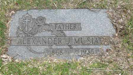 MUSIAL, ALEXANDER J. - Lucas County, Ohio | ALEXANDER J. MUSIAL - Ohio Gravestone Photos