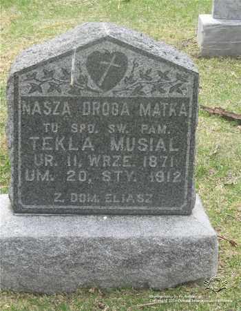 MUSIAL, TEKLA - Lucas County, Ohio | TEKLA MUSIAL - Ohio Gravestone Photos