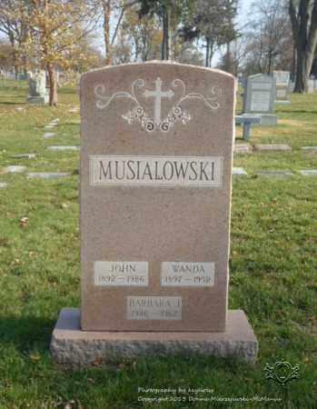 MUSIALOWSKI, JOHN - Lucas County, Ohio | JOHN MUSIALOWSKI - Ohio Gravestone Photos