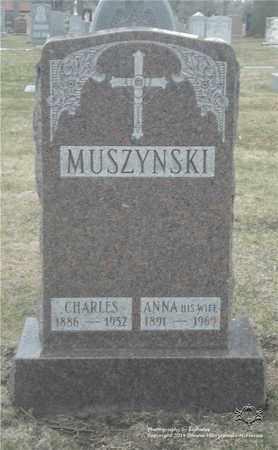 MUSZYNSKI, ANNA - Lucas County, Ohio | ANNA MUSZYNSKI - Ohio Gravestone Photos
