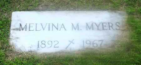 MYERS, MELVINA M. - Lucas County, Ohio | MELVINA M. MYERS - Ohio Gravestone Photos