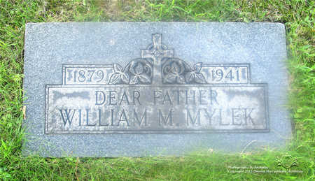 MYLEK, WILLIAM - Lucas County, Ohio | WILLIAM MYLEK - Ohio Gravestone Photos