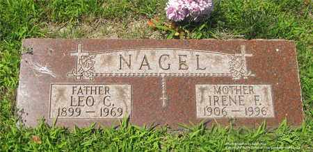 NAGEL, LEO C. - Lucas County, Ohio | LEO C. NAGEL - Ohio Gravestone Photos