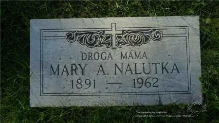 NALUTKA, MARY A. - Lucas County, Ohio   MARY A. NALUTKA - Ohio Gravestone Photos