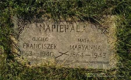 NAPIERALA, MARYANNA - Lucas County, Ohio | MARYANNA NAPIERALA - Ohio Gravestone Photos
