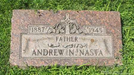 NASTA, ANDREW N. - Lucas County, Ohio   ANDREW N. NASTA - Ohio Gravestone Photos
