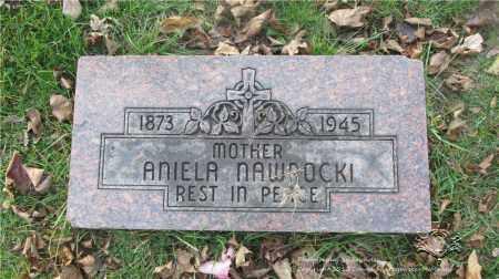 NAWROCKI, ANIELA - Lucas County, Ohio | ANIELA NAWROCKI - Ohio Gravestone Photos