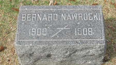 NAWROCKI, BERNARD - Lucas County, Ohio | BERNARD NAWROCKI - Ohio Gravestone Photos