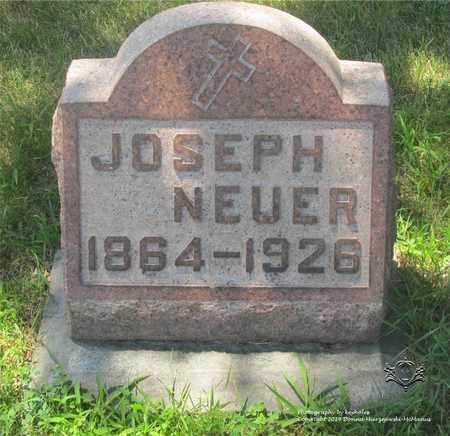 NEUER, JOSEPH - Lucas County, Ohio | JOSEPH NEUER - Ohio Gravestone Photos