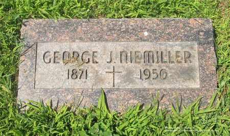 NIEMILLER, GEORGE J. - Lucas County, Ohio | GEORGE J. NIEMILLER - Ohio Gravestone Photos