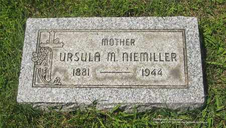 SCHALL NIEMILLER, URSULA M. - Lucas County, Ohio | URSULA M. SCHALL NIEMILLER - Ohio Gravestone Photos