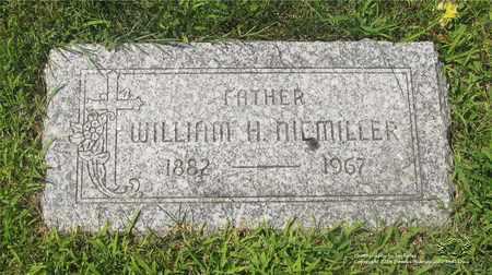 NIEMILLER, WILLIAM H. - Lucas County, Ohio | WILLIAM H. NIEMILLER - Ohio Gravestone Photos