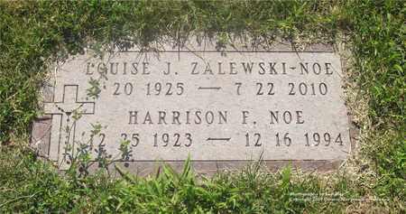 ZALEWSKI NOE, LOUISE J. - Lucas County, Ohio   LOUISE J. ZALEWSKI NOE - Ohio Gravestone Photos