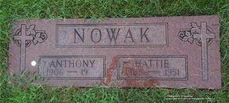 NOWAK, ANTHONY - Lucas County, Ohio | ANTHONY NOWAK - Ohio Gravestone Photos