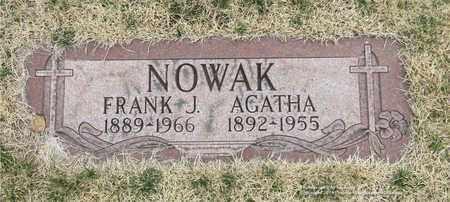 NOWAK, FRANK J. - Lucas County, Ohio   FRANK J. NOWAK - Ohio Gravestone Photos