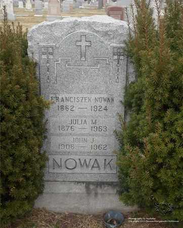 NOWAK, JOHN J. - Lucas County, Ohio | JOHN J. NOWAK - Ohio Gravestone Photos