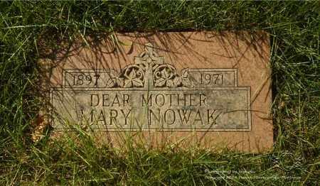 NOWAK, MARY - Lucas County, Ohio   MARY NOWAK - Ohio Gravestone Photos