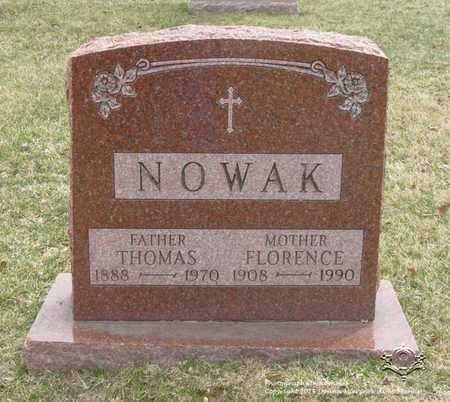 NOWAK, FLORENCE - Lucas County, Ohio | FLORENCE NOWAK - Ohio Gravestone Photos