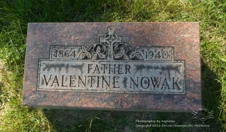 NOWAK, VALENTINE - Lucas County, Ohio | VALENTINE NOWAK - Ohio Gravestone Photos
