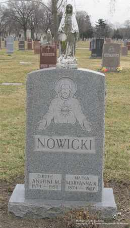 NOWICKI, MARYANNA K. - Lucas County, Ohio | MARYANNA K. NOWICKI - Ohio Gravestone Photos