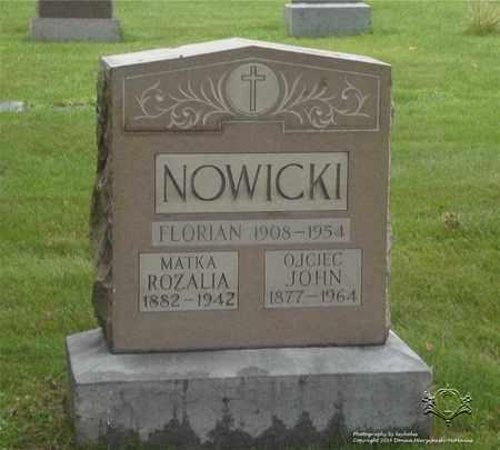 NOWICKI, FLORIAN - Lucas County, Ohio | FLORIAN NOWICKI - Ohio Gravestone Photos