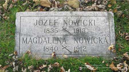 NOWICKI, JOZEF - Lucas County, Ohio | JOZEF NOWICKI - Ohio Gravestone Photos