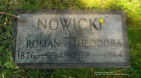 NOWICKI, THEODORA - Lucas County, Ohio | THEODORA NOWICKI - Ohio Gravestone Photos