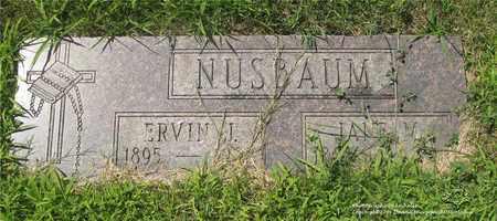 NUSBAUM, JANE M. - Lucas County, Ohio | JANE M. NUSBAUM - Ohio Gravestone Photos