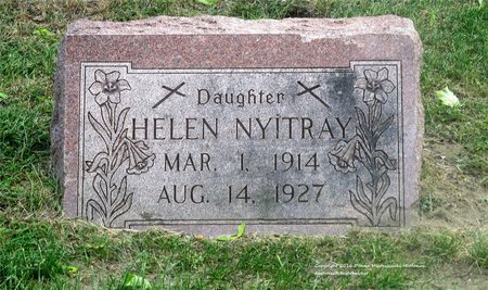 NYITRAY, HELEN - Lucas County, Ohio | HELEN NYITRAY - Ohio Gravestone Photos